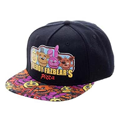 1b871ee9706 Five Nights at Freddy s Youth Snapback Cap (One Size