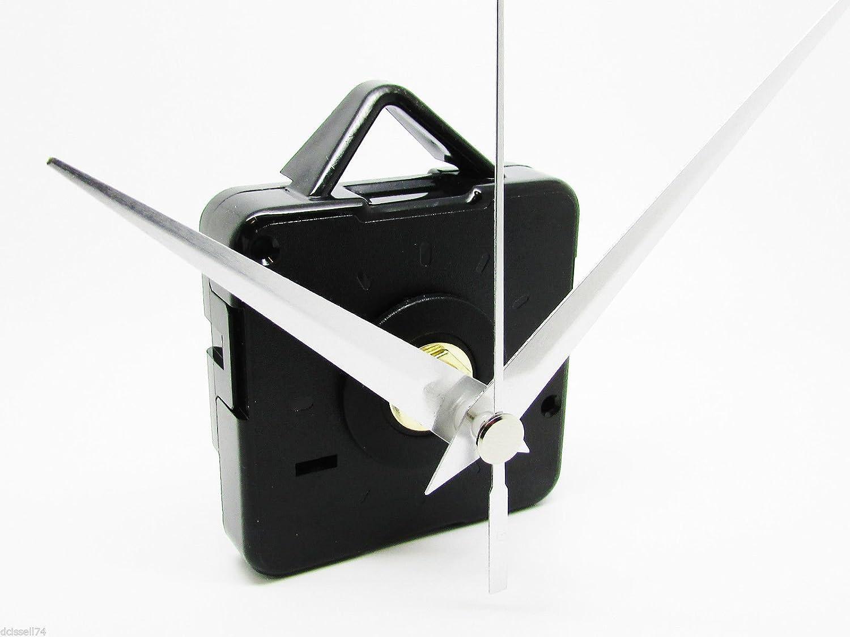 Ersatz kurz schleichendem Quarzuhrwerk Uhrwerk Motor /& Metall H/ände und Armaturen/?/DIY 24 mm gold