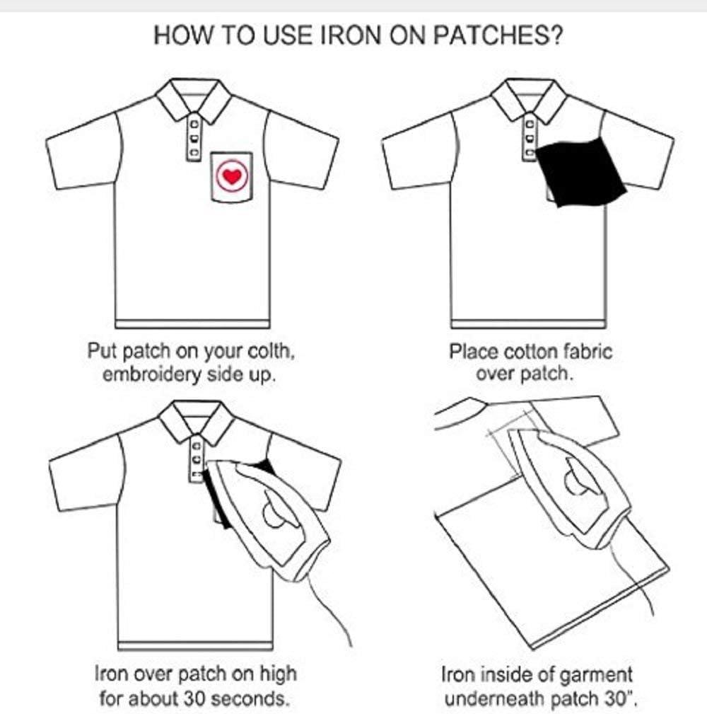 Patch Sticker Applikation,Niedlich Aufn/äher B/ügelbild Kleidung Patches Iron on Patch f/ür T-Shirt Jeans Taschen YAOJIN 21 STK Patches Set Aufn/äher Patch