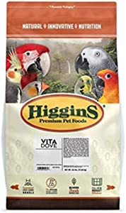 Higgins Pet Food Dove Vita Seed, 25 Lb
