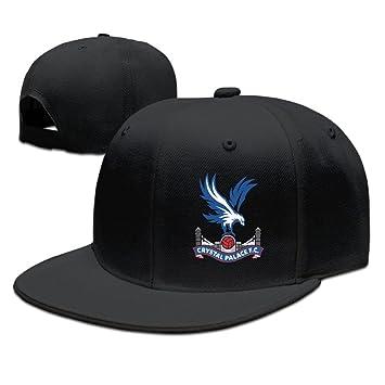 YhsukRuny Custom Crystal Palace Premier League Adjustable Baseball Hat Cap  Black a18796cad30