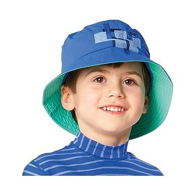 newest 657cf ecee4 HYPHEN UV- Sonnenhut Baby-Bademode UV-Schutz-Kleidung, Größe 50/52, blau