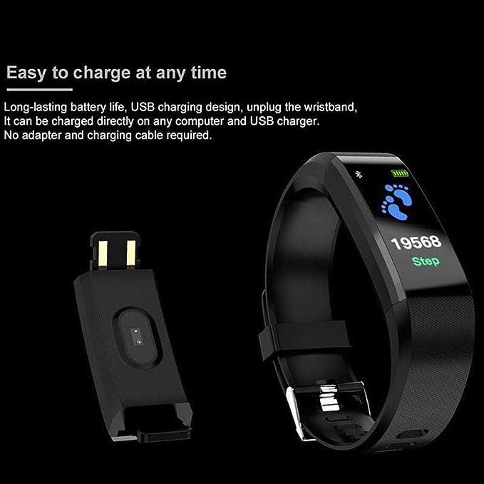 pioleUK Moda Impermeable Monitor de frecuencia cardíaca Bluetooth ...