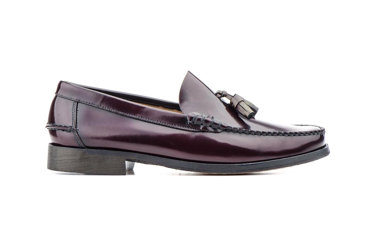 Mocasines Castellanos de Piel Florentic para Hombre, Manuel Medrano mod.702, Calzado Made in Spain Garantía de Calidad. (41, Burdeos): Amazon.es: Zapatos y ...