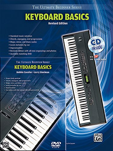 Ultimate Beginner Keyboard Basics Mega Pak: Book, CD & DVD (The Ultimate Beginner Series) (Keyboard Basics Dvd)