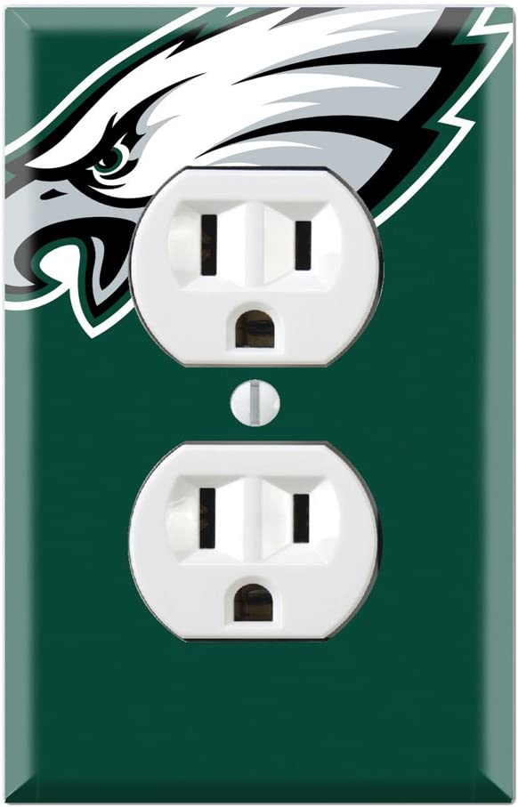 Philadelphia Eagles Light Switch Covers Football NFL Home Decor Outlet