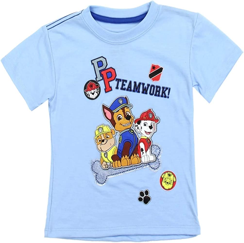 Paw Patrol Toddler Boys Graphic T Shirt Size 2T Chase