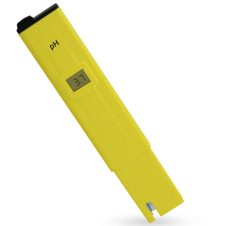 Findway Mini PH-009 PH Meter Digital Pocket-Sized Pen Type pH Meter, Mini Water Quality Tester, pH 0.0 - 14.0 Measuring Range, 0.1 PH Resolution