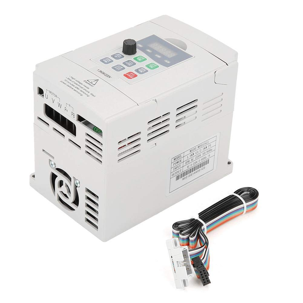 1.5kW General Frequency Inverter Converter Vector Type Single Phase AC 200-240V
