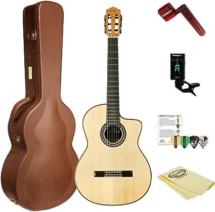 Cordoba GK Pro arce acústica eléctrica (cuerdas de nailon guitarra ...