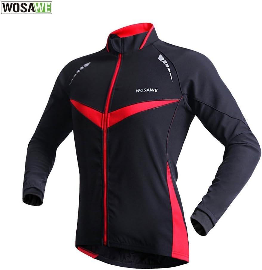 WOLFBIKE Fahrradjacke Jersey Sportswear Atmungsaktiv Lange /Ärmel Winddicht Coat
