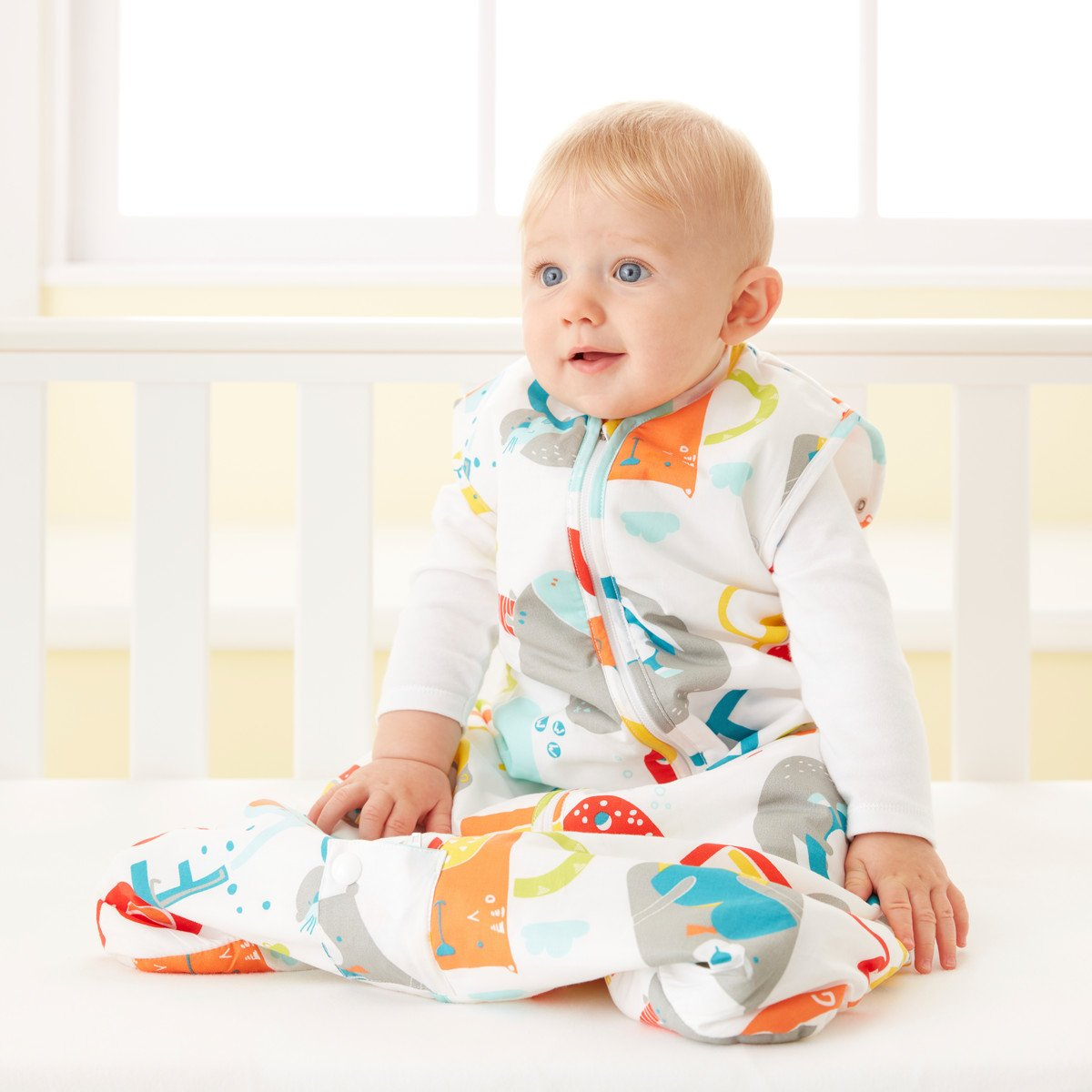Grobag Travel Baby Sleeping Bag - E is for Elephant 2.5 Tog (18-36 Months) by grobag (Image #2)