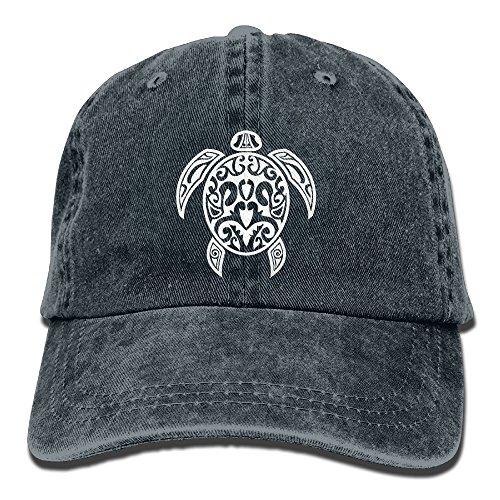 Sea Turtle Diving Beach Marine Life Unisex Adjustable Cotton Denim Hat Washed Retro Gym Hat FS&DMhcap Cap Hat