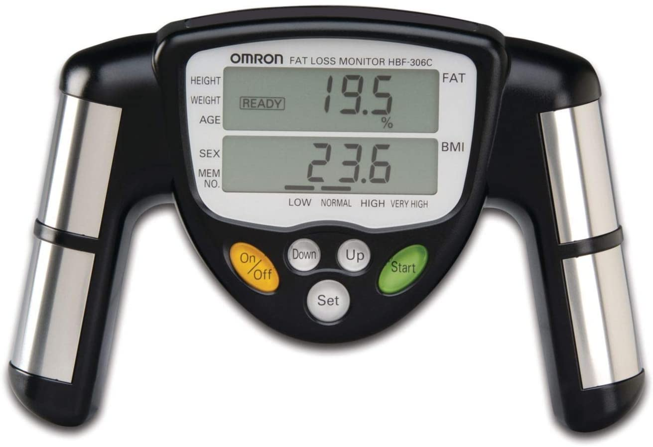 Hand Held Portable Body Composition Monitor Body Mass Body Water Body Fat