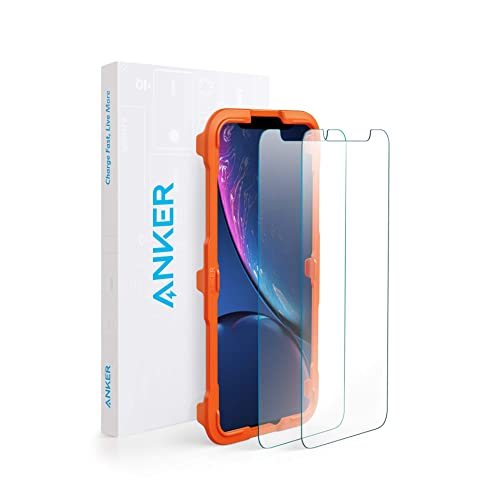 【2枚セット】Anker GlassGuard iPhone XR用