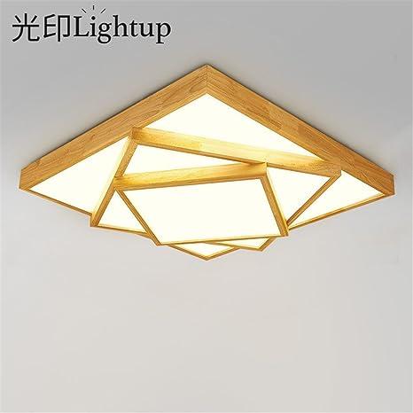 Modern LED Pendant Flush Mount Ceiling Fixtures Light Square
