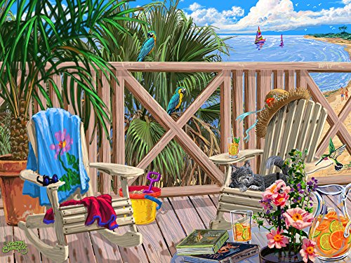 Vermont Christmas Company Peaceful Paradise Jigsaw Puzzle 550 Piece