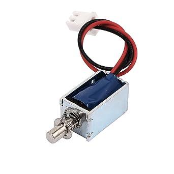 uxcell Open Frame Actuator Door Lock Tiny Size Popup