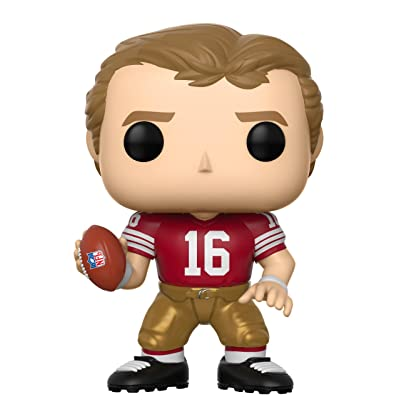 Funko POP NFL: Joe Montana (49Ers Home) Collectible Figure: Toys & Games