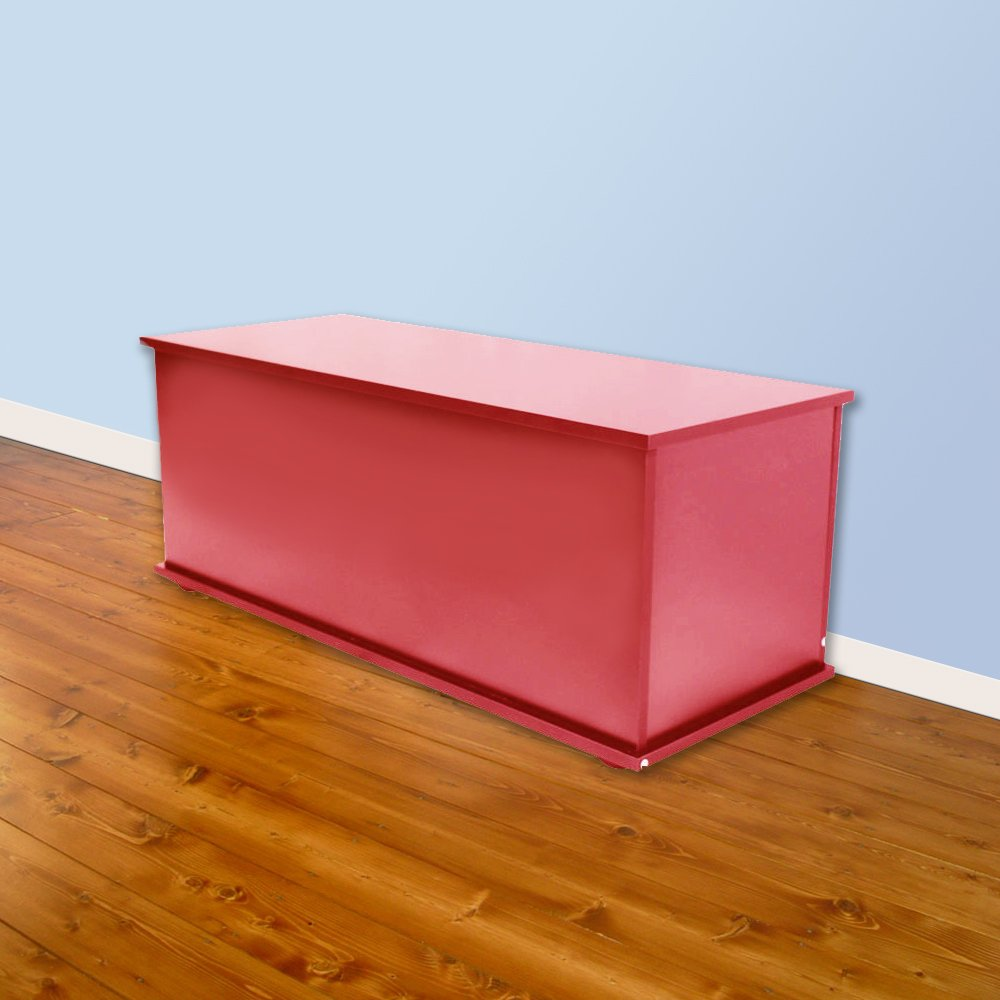 Wooden Ottoman box / Chest / Trunk / Storage Box - Colour: Hot Pink - Bedroom Chest Wooden Bedroom Ottoman Box Trunk In White: Amazon.co