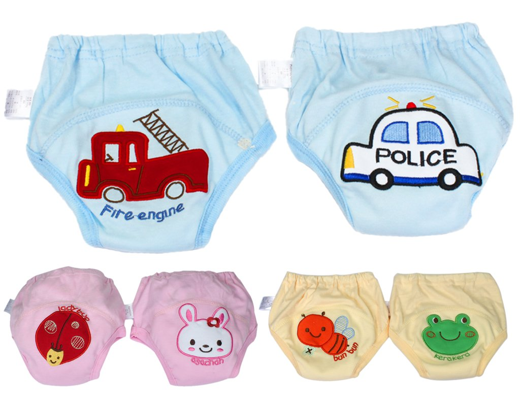BONAMART 2 Stück Baby Junge Mädchen Kids Trainerhosen Unterwäsche 80 90 95 100 cm