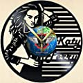 Vinyl Wall Clock Katy Perry