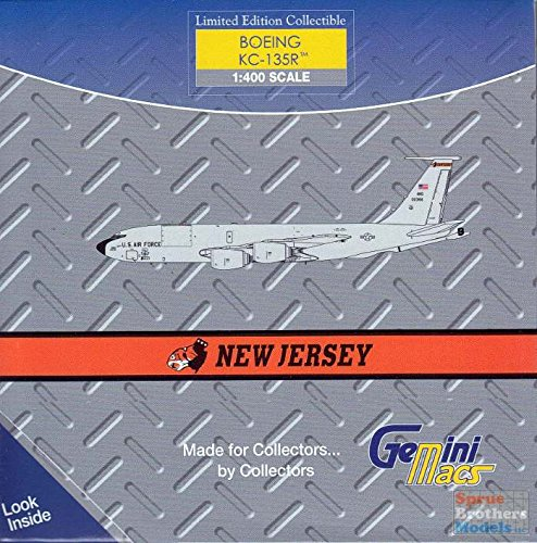 [GeminiMacs USAF Boeing KC-135 (New Jersey Ang) 1/400 Scale Airplane Model] (Usaf Kc 135)