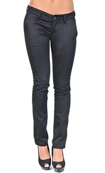 154132bc32852c Giorgio Di Mare - Pantaloni - Donna Black 36: Amazon.it: Abbigliamento
