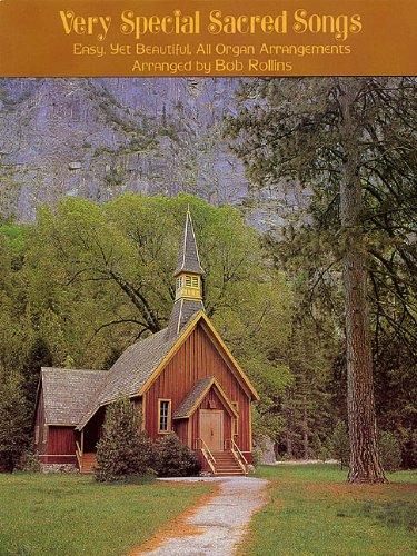 - Very Special Sacred Songs: Organ Music Book