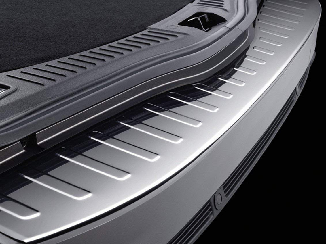 per Ford Mondeo MK4 Station Wagon dal 2007 al 2015 Chromeline in Acciaio Inox Spazzolato Protezione paraurti Posteriore cromata