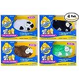 Zhu Zhu Hamster 4 Pack: Captain Zhu, Shamrock, Bamboo, Dezel