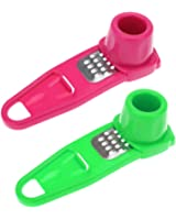 Happy Sales HSGG-PG1, One(1) Multipurpose Microplaner and Grater for Ginger or Garlic, Colors may Vary