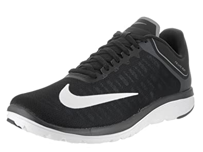 half off 2edb0 9497e Nike Men's FS Lite Run 4 Running Shoe Black/White/Anthracite/Cool Grey