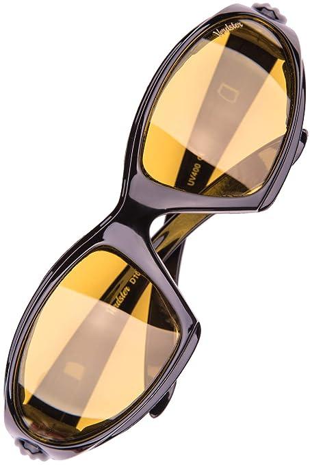 Verdster Gafas de sol POLARIZADAS Airdam Para Hombres– Aptos para Conducir, Pescar e Ir en bicicleta – Montura Envolvente Cómoda con Protección UV – ...