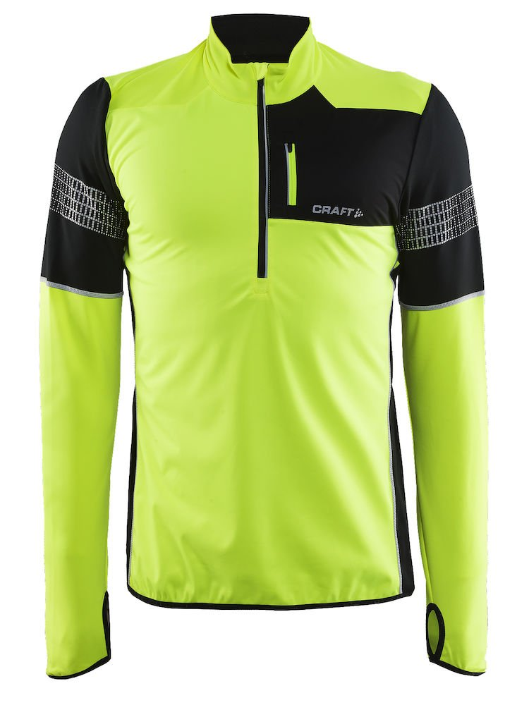 CRAFT Brilliant 2.0 – Camiseta de Running para Hombre, Hombre, Color 2851 Flumino/Noir, tamaño L
