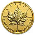 1979 CA - Present Canada 1/10 oz Gold Maple Leaf (Random Year) Gold About Uncirculated