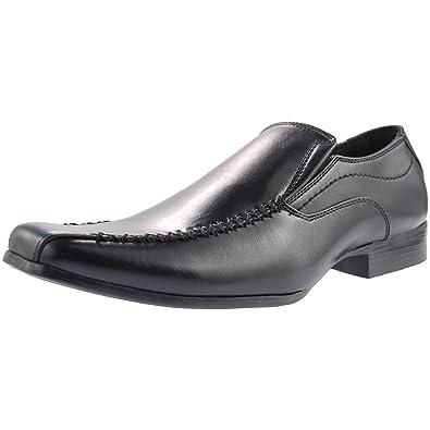 US Brass Raven Mens Shoes Black 7CuCnYAQ