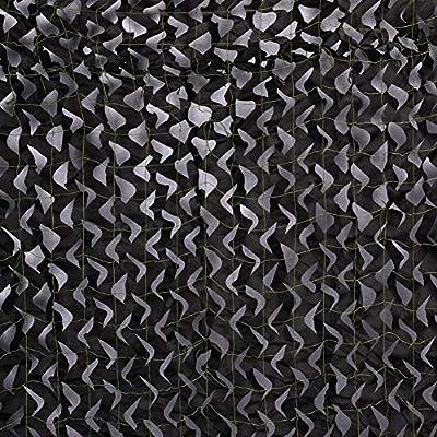 Red de camuflaje Sitong 150D para persianas de caza, negro, 3x4m=9.84x13.12ft: Amazon.es: Deportes y aire libre