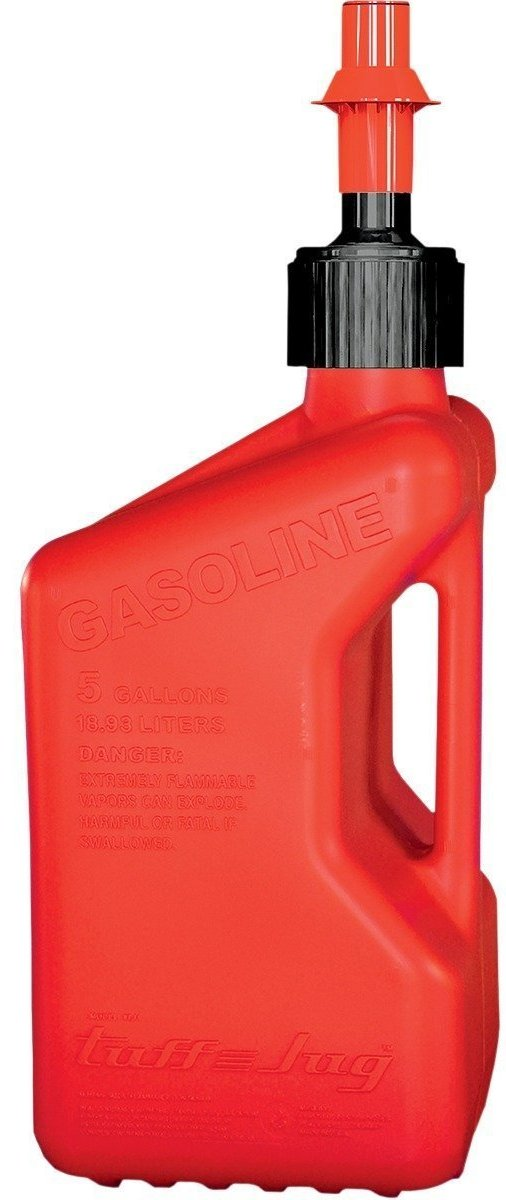 Tuff Jug TJ1R Red Gasoline Fuel Container - 5.0 Gallon Capacity