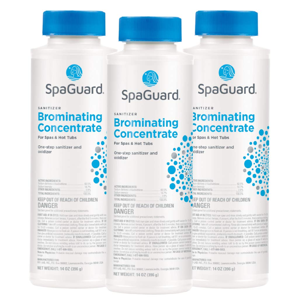 SpaGuard Brominating Concentrate (14 oz) (3 Pack) by SpaGuard