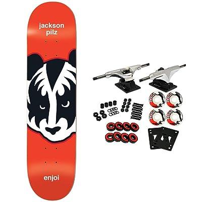 "Enjoi Skateboard Complete Kiss Pilz 8.375"" : Sports & Outdoors"
