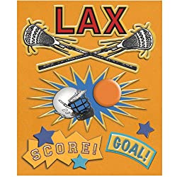 K&company Lacrosse Sticker Medley