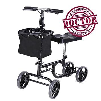 Amazon.com: koval Inc. orientable Scooter de rodilla, adulto ...