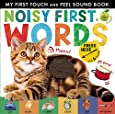Noisy First Words: My First Touch and Feel Sound Book (My First Touch & Feel Sound Bk)