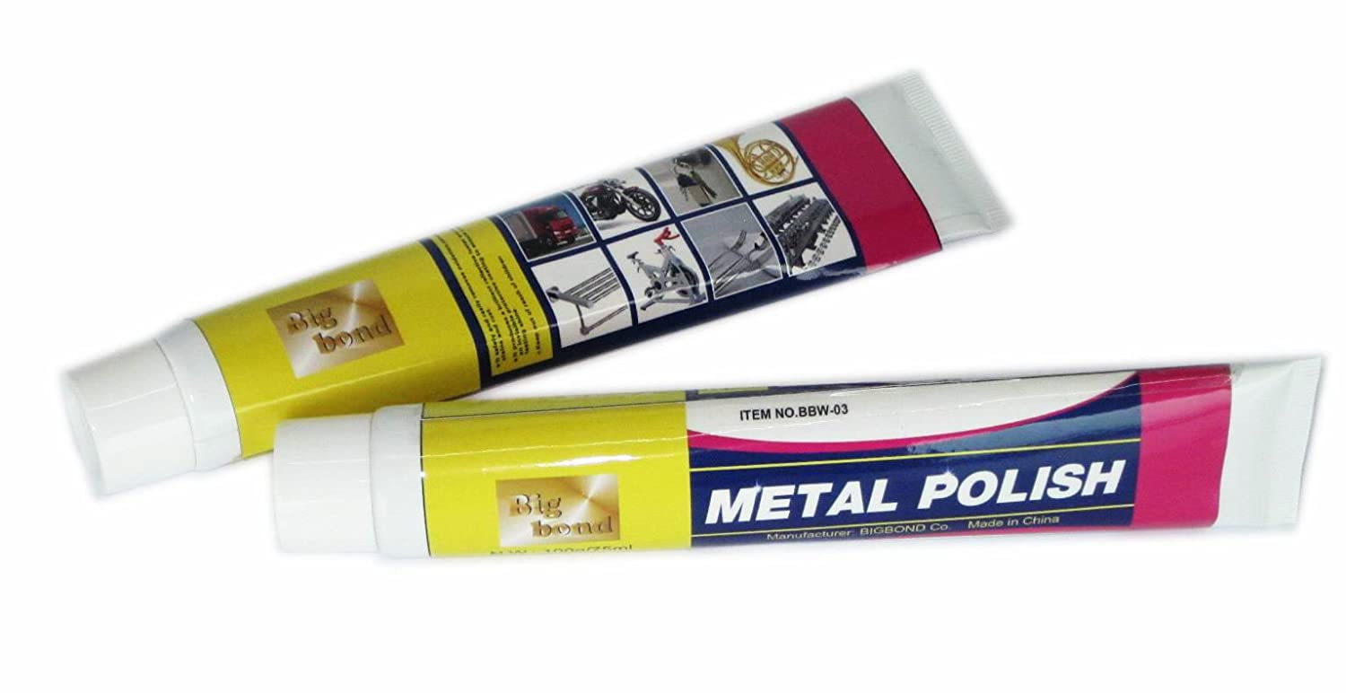 Metal Polishing Paste Tube 100 g (3.33 oz.)/ea - 1 Pack Big Bond