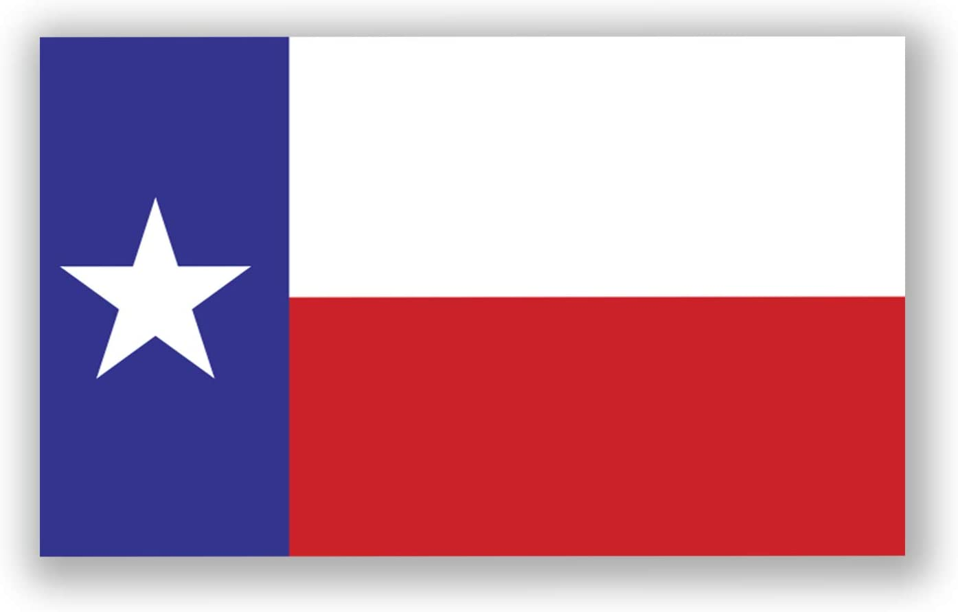 Texas State Flag Magnet | 5-Inches by 3-Inches | Premium Quality Heavy Duty Magnet | MagnetPD349