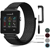 C2D JOY Sport Loop Works with Garmin vivoactive Replacement Bands GPS Watch Woven Nylon Band No