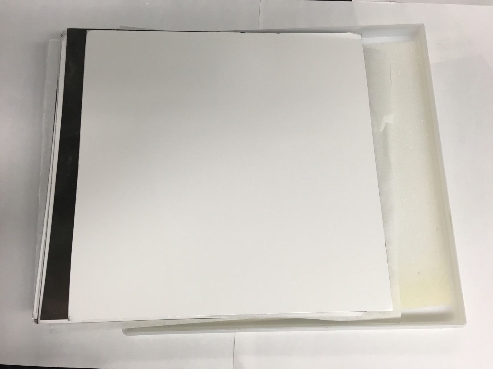 TLC Silica Plates Aluminum Backed GF254 20cm x 20cm 12/box