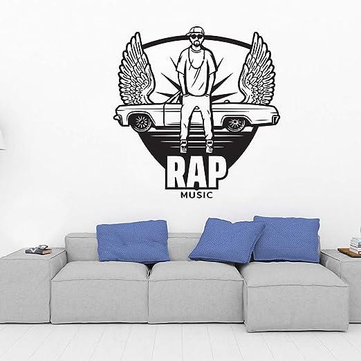 woyaofal Studio Creative Wall Stickers Music Enthusiast ...