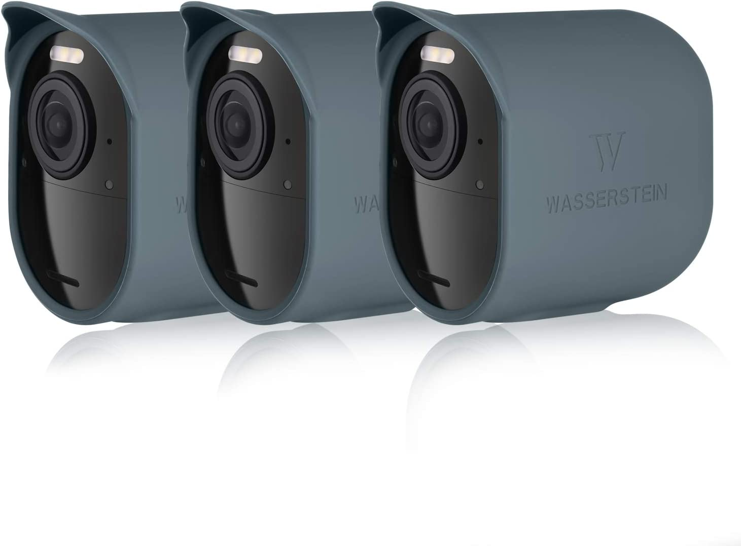 Black, 3 Pack Accessorize and Protect Your Arlo Camera Protective Silicone Skins with Sunroof Compatible with Arlo Ultra /& Arlo Pro 3